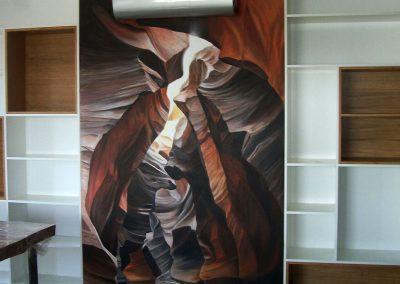 malowidło w pokoju