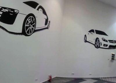 namalowane samochody
