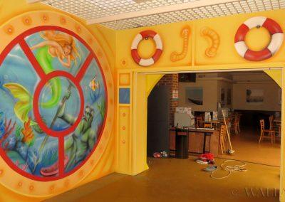 pomalowana sala