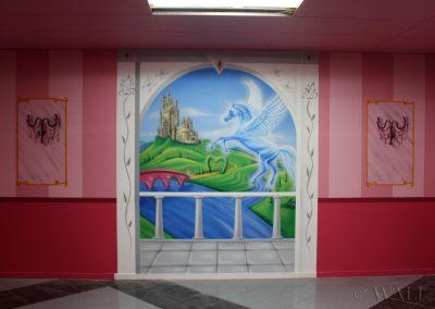 pomalowany pokój