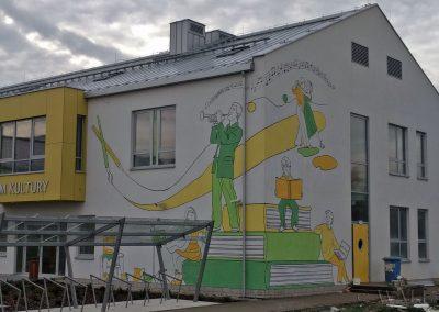 wykonany mural