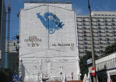 mural - folk gospoda