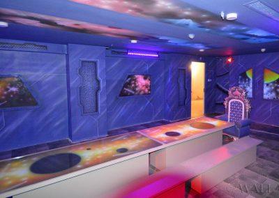 kosmiczny pokój urodzinowy