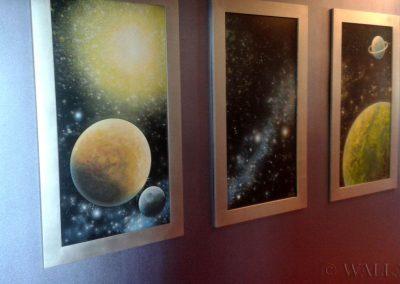 wykonane obrazy kosmiczne
