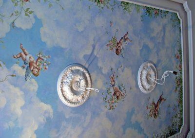 malowidło na suficie