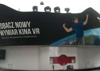 namalowana grafika - multikino VR
