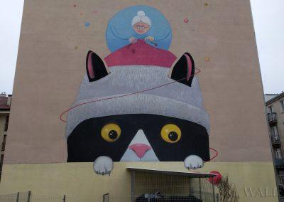 mural babcia