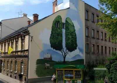 fait une murale