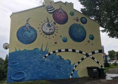 namalowany mural