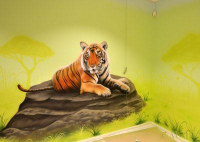 namalowany tygrys