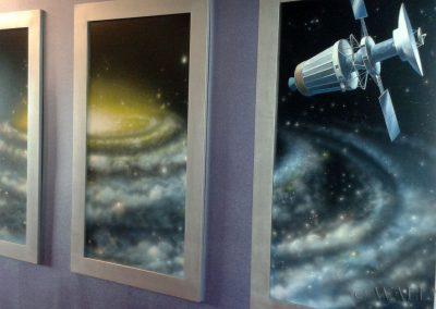 wykonane obrazy - galaktyka