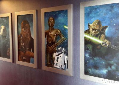 wykonane obrazy - Star Wars