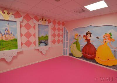 party room - księżniczki