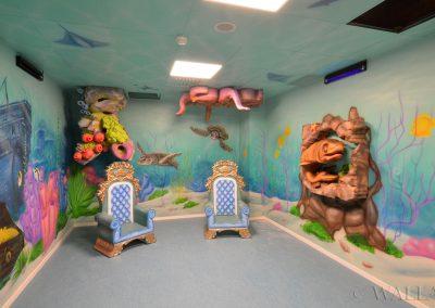 party room - podwodny świat