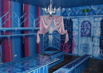 pomalowany pokój - frozen