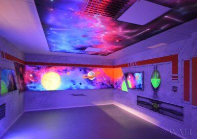 party room - statek kosmiczny