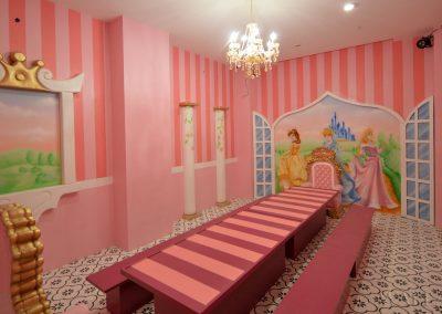 pokój urodzinowy księżniczki