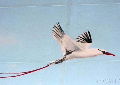 namalowany ptak