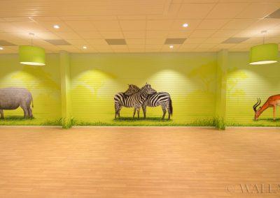 namalowane zwierzęta