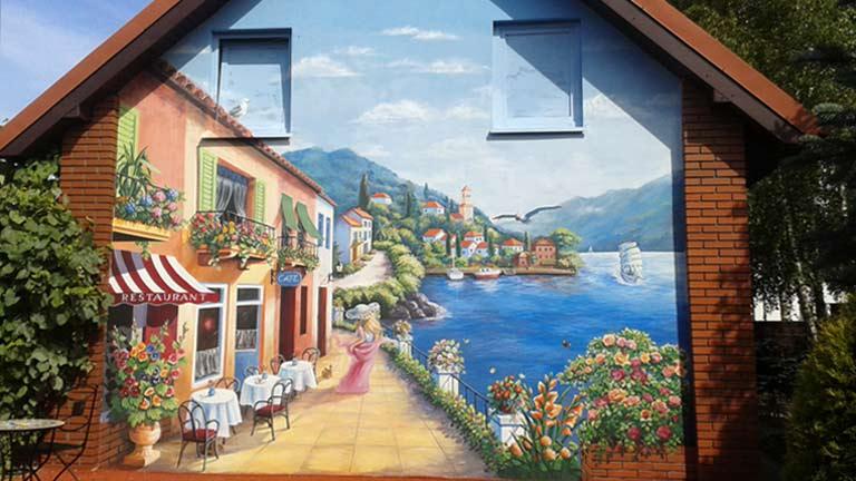 Offerta Wallart Murales Dipinti