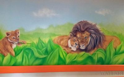 292. Hospital mural